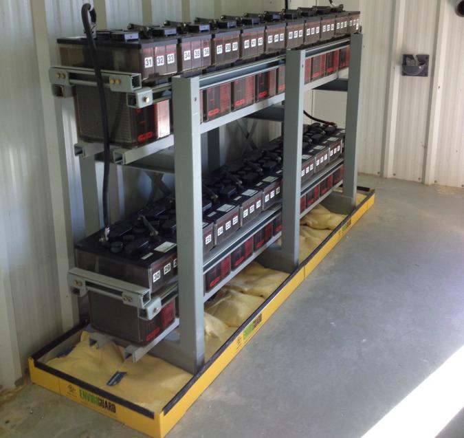 Three Bank Battery Monitoring System : B c fade ab a ceca ef e g